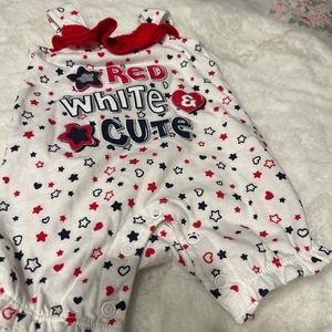 Nannette Baby 0-3 month One piece Outfit